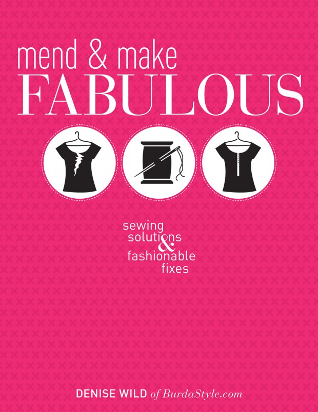 Mend and Make Fabulous - jacket art