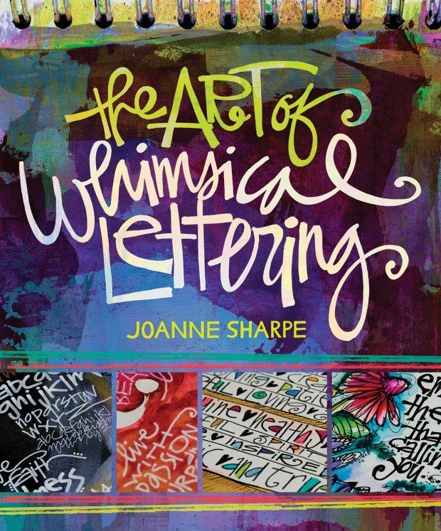 The Art of Whimsical Lettering - jacket art